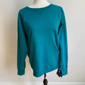 Champion Powerblend green sweatshirt Large NEW